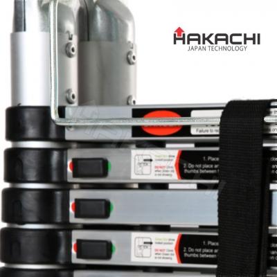 Hệ thống chốt khóa tự động liên hoàn của thang nhôm Hakachi