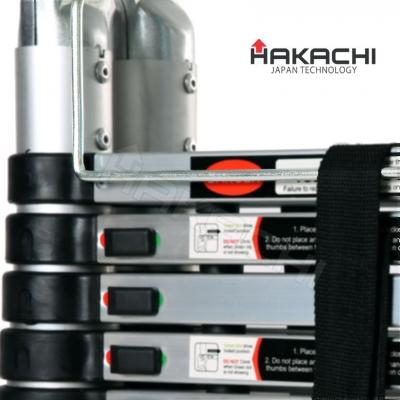 Hệ thống chốt khóa tự động của thang nhôm Hakachi HM-18CP