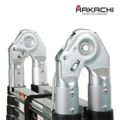 Thiết kế chốt khóa tự động của thang nhôm rút đôi Hakachi