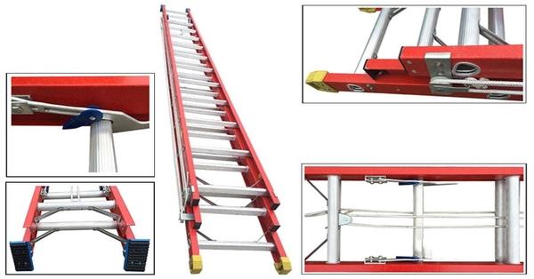 Hướng dẫn sử dụng thang nhôm trượt đúng cách