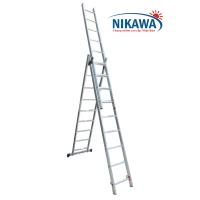 Thang nhôm ba đoạn Nikawa NKT-100