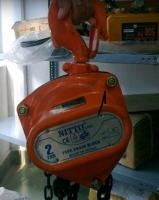 Pa lăng xích kéo tay Nitto 20VP5 (2 tấn 5 mét)