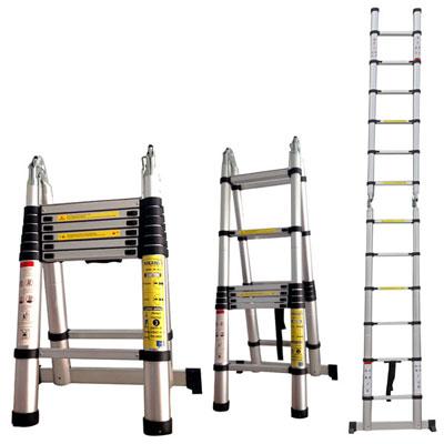 Quy cách sử dụng thang nhôm rút gọn đôi
